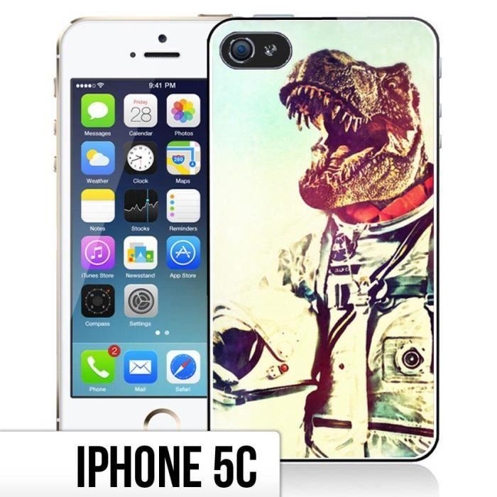Coque iPhone 5C Animal Astronaute - Dinosaure