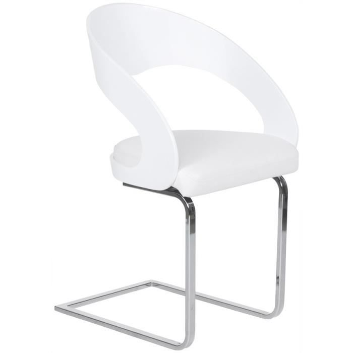 CHAISE MODERNE KIRA POUR SALLE A MANGER