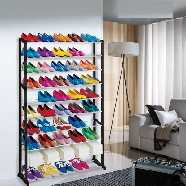 range chaussures design 50 paires achat vente housse. Black Bedroom Furniture Sets. Home Design Ideas