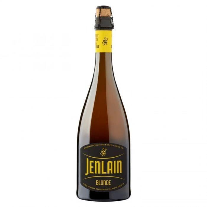 BIÈRE Jenlain Blonde - Bière blonde 75cl 6,8°