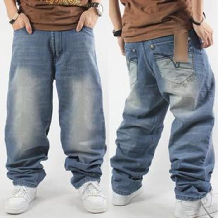 low price sale get new 100% high quality Homme jeans baggy rap