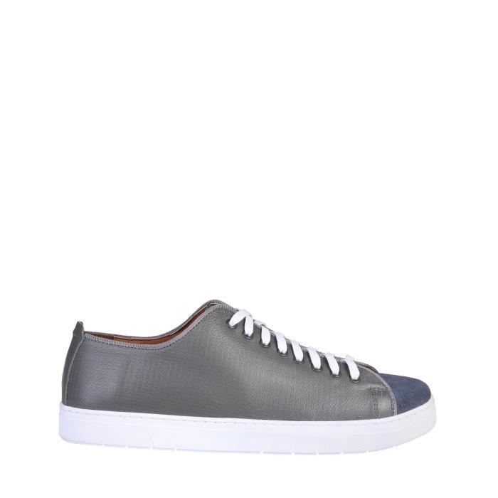 DERBY Pierre Cardin Gris Chaussures Sneakers
