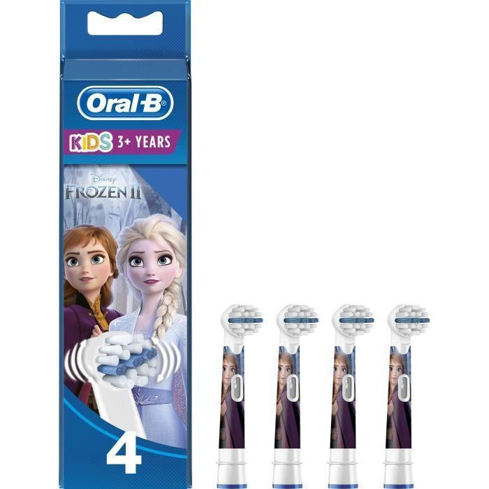 PIÈCE BEAUTÉ BIEN-ÊTRE Oral-B Stages Power 4 brossettes de rechange avec