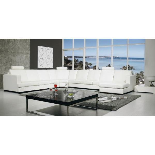 mobilier table grand canape d angle cuir. Black Bedroom Furniture Sets. Home Design Ideas