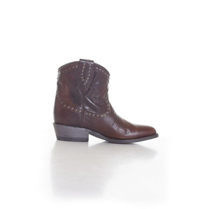 Schott - Bottes - Ft1692w brown... Marron foncã©