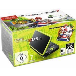 CONSOLE NEW 2DS XL Console New Nintendo 2DS XL Noir/Citron Vert & Mar