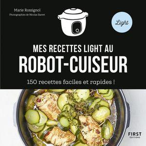 LIVRE CUISINE AUTREMENT Mes recettes light au robot cuiseur