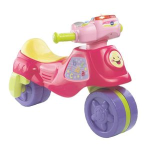 VTECH Tricycle Cyclo-moto 2 En 1 Rose