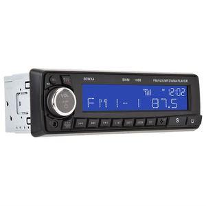 AUTORADIO Autoradio Bluetooth Lecteur MP3 / MP4 / MP5 Effets
