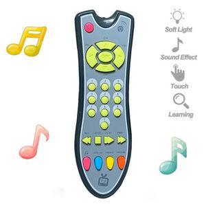 PUZZLE Enfants Musical TV Remote Toy contrôle avec son et