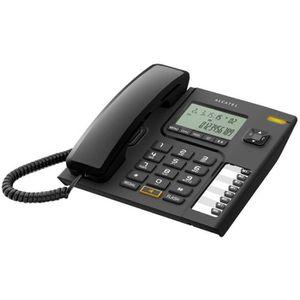 Téléphone fixe Alcatel T76 Téléphone filaire avec ID d'appelant n