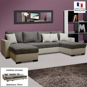canape meridienne microfibre achat vente canape meridienne microfibre pas cher cdiscount. Black Bedroom Furniture Sets. Home Design Ideas