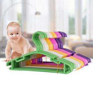 CINTRE 27 x 15 cm Lot de 50 Cintres en Plastique pour béb