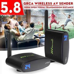 Récepteur audio ss-33-TEMPSA 5.8GHz 24CH Transmetteur Vidéo Audio