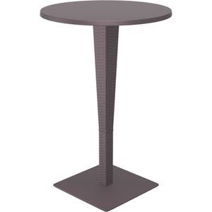 Table ronde exterieur achat vente table ronde for Table exterieur largeur 70