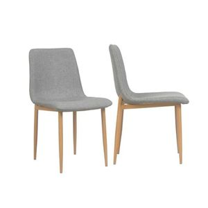 CHAISE By Demeyere « Sophie » lot de 2 chaises de salle à