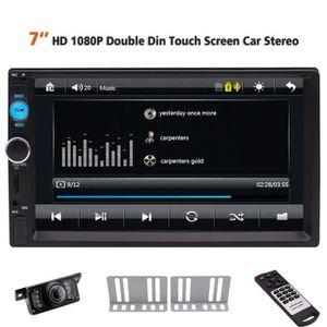 AUTORADIO Double Din Car Stereo plein écran tactile de l'écr