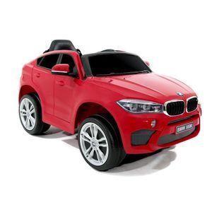 VOITURE ELECTRIQUE ENFANT E-ROAD BMW X6 M Voiture électrique enfnat Rouge mo