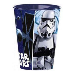Verre à eau - Soda Gobelet Star Wars verre plastique Disney enfant bl