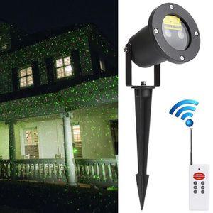 LAMPE DE JARDIN  Eclairage Exterieur LED Spot Lampe télécommande Lu