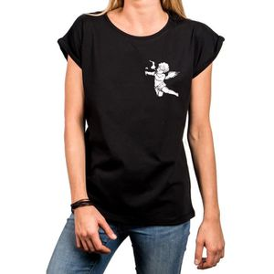 T-SHIRT Makaya Tee Shirt avec Motif pour Femme - Message H