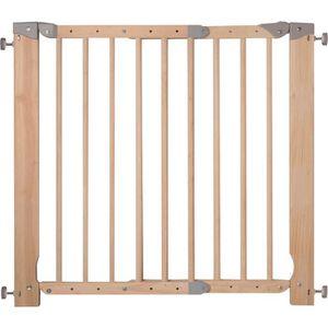 BARRIÈRE SÉCURITÉ CHIEN Barriere de securite amovible bois reglable 70 à 1