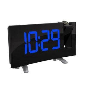 Radio réveil Radio Réveil à Projection FM Horloge Numérique USB