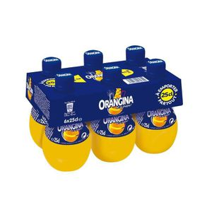 Apéritif sans alcool ORANGINA Pack de 6 Boissons gazeuses à l'Orange -