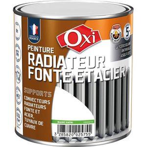 PEINTURE - VERNIS Peinture radiateur spécial fonte - 0.5 L - blanc s