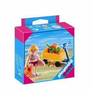 UNIVERS MINIATURE Playmobil 4755 - Enfant Avec Jeux De Plage