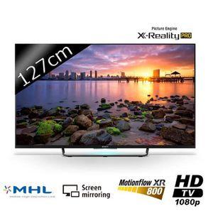 Téléviseur LED SONY KDL50W755 Smart TV LED Full HD 127cm (50