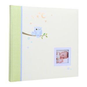 COFFRET CADEAU SOUVENIR Album Photo bébé Paul Bleu 60 pages + boite cadeau