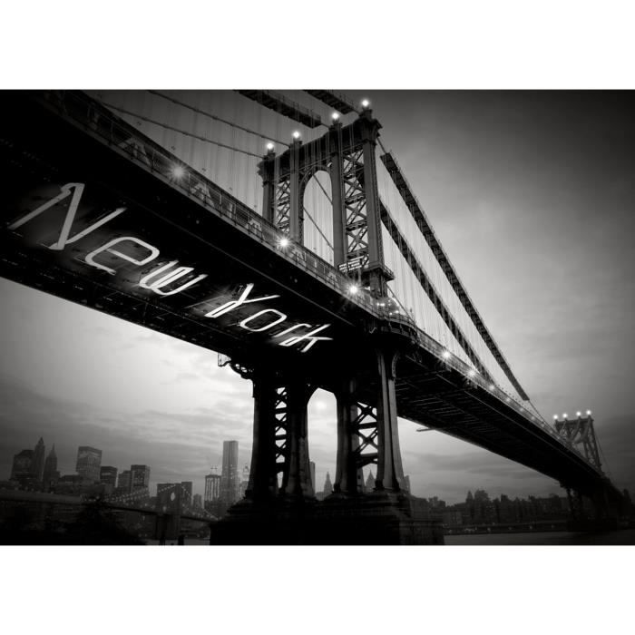 Affiche papier - New York Bridge - Braun Studio - 50x70 cm