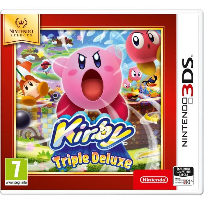 Kirby Triple Deluxe Nintendo Selects Jeu 3DS