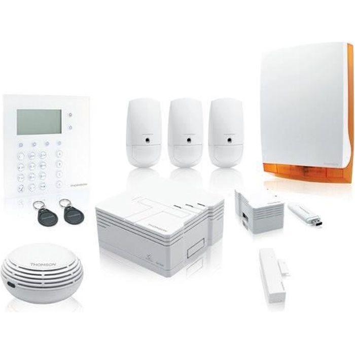 THOMSON Pack Alarme maison connectée sans fil