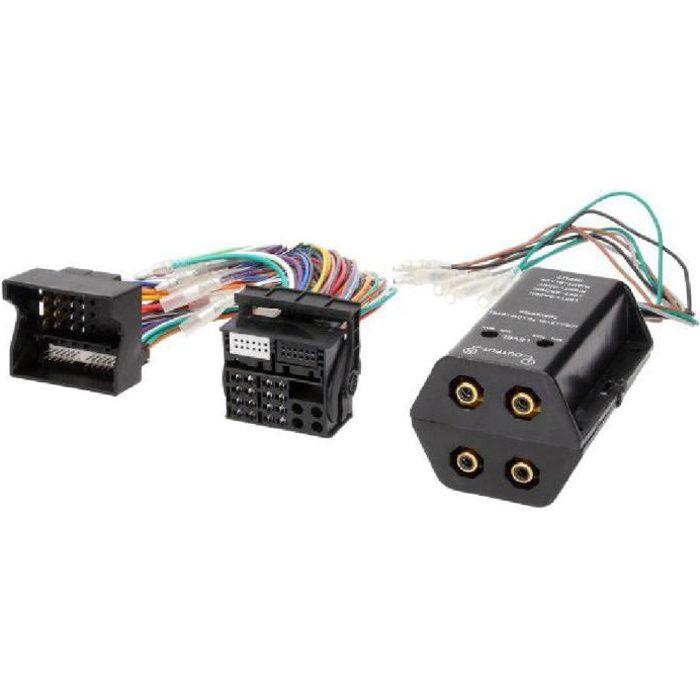 Adaptateur pour ajout amplificateur sur systeme origine - Fakra 4 canaux - BMW serie 1 3 Ford C-Max Focus Mondeo Mercedes Seat Al...