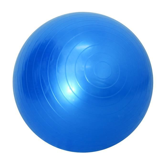 45/85 cm Soft Ballon de Yoga Anti-Eclat Exercice GYM Balles de Pilates 45cm Bleu