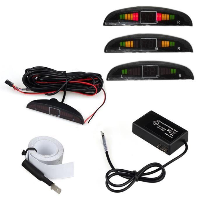 Capteur de recul de stationnement auto électromagnétique avec radar sonore ne1