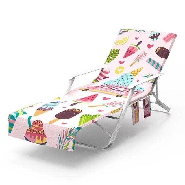 Nouveau imprimé microfibre soleil chaise longue plage couverture serviette vacances jardin pisc - Modèle: 2 75x215cm - TEYYMJA05903