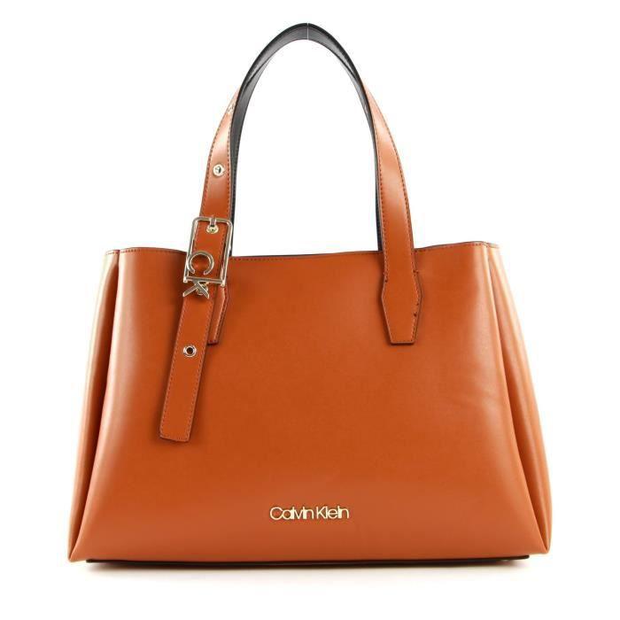 Calvin Klein Tote Cognac [108764]