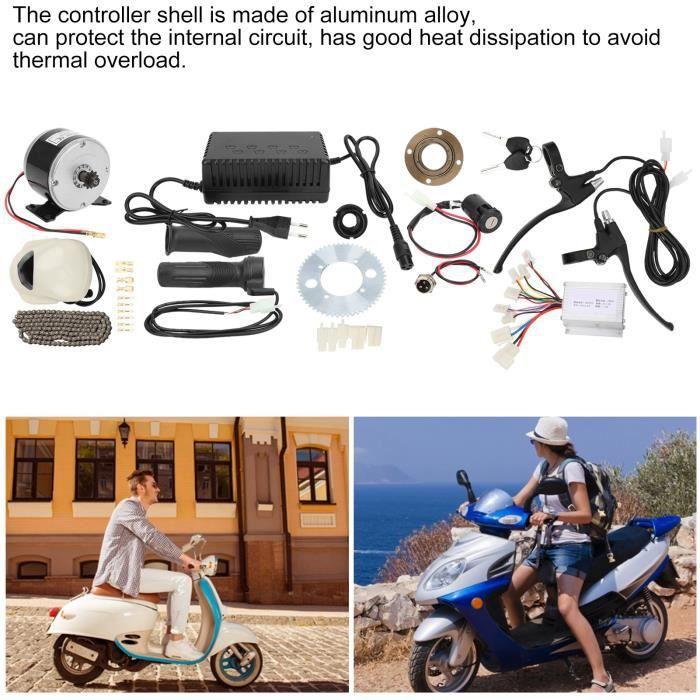 14pcs Kit Accessoire Haute Vitesse Conversion Vélo Électrique DIY 24V250W EU 90‑240V