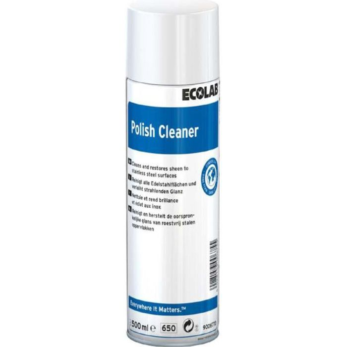 Ecolab Polish Cleaner 500ml Entretien et protection des inox