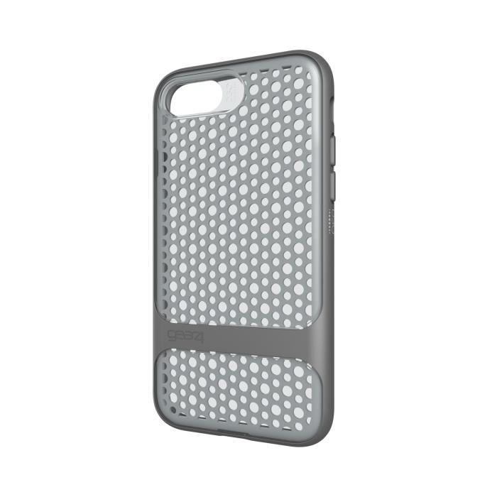 GEAR4 D3O Carnaby Coque - iPhone 7 - Argent