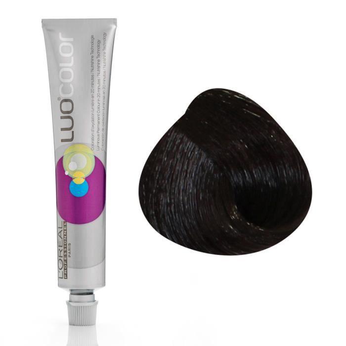 L'Oréal Professionnel Colorations Luo Color Nutrigelée 3 : Châtain Foncé Avec ammoniaque, 50ml