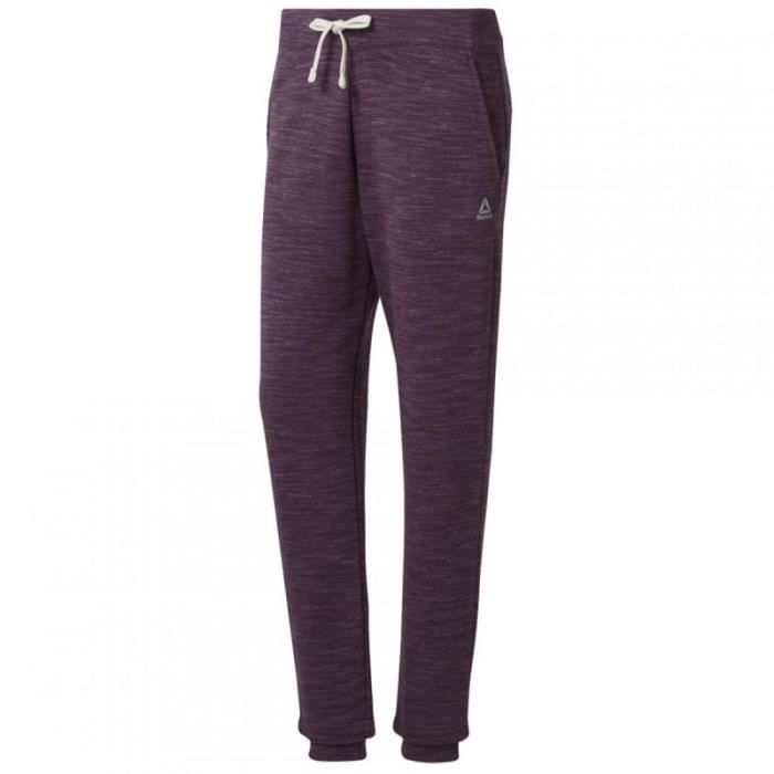 Jogging violet femme Reebok Training Essentials