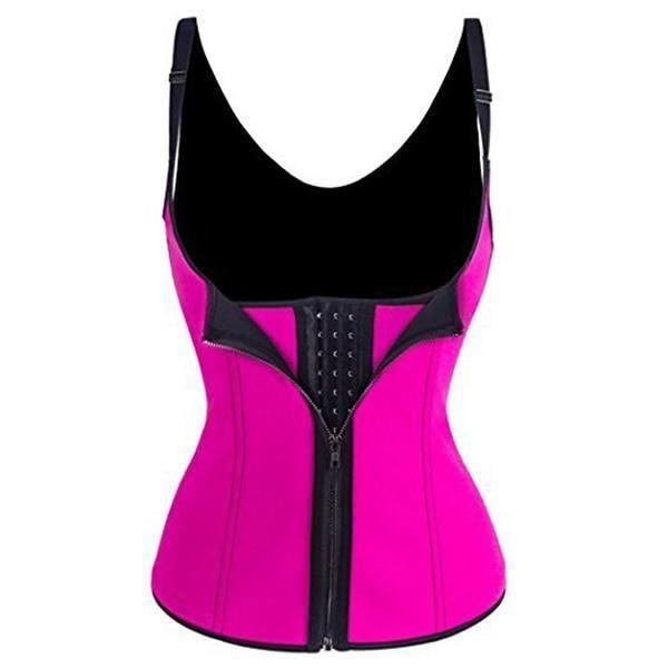 CEINTURE - BOUCLE DE CEINTURE,Shapewear taille formation Corset Shaper Cincher ceinture minceur femmes Yoga Fitness - Type Rouge-S