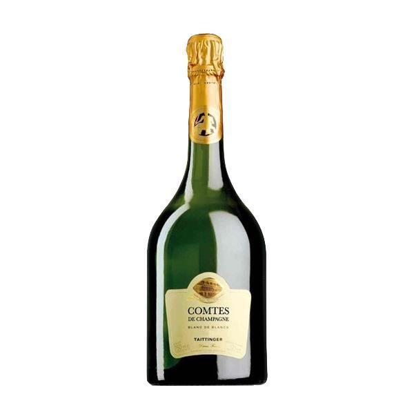 Taittinger Comte de champagne - Caisse bois - Champagne AOC - 2008
