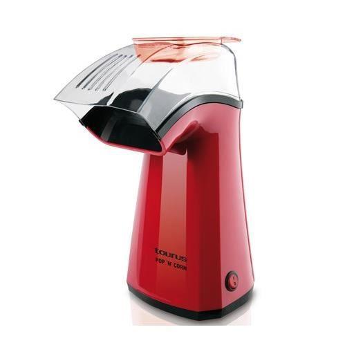 TAURUS 968375 Machine à popcorn Pop'N'Corn - Rouge