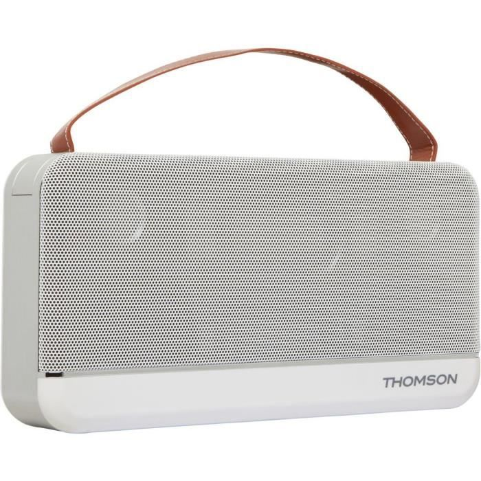 THOMSON WS03 Speaker Bluetooth - Grande taille - Blanc