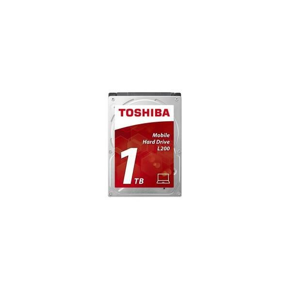 Toshiba Disque Dur interne L200 2,5'' Boite Retail - 1 To - 5400 rpm - 8 Mb (9,5 mm)